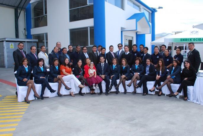 Inauguración de las nuevas instalaciones en la ciudad de Quito