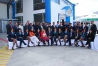Inauguration of new facilities in the city of Quito