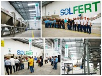 OPENING SOLFERT FERTILIZER PLANT MIXER